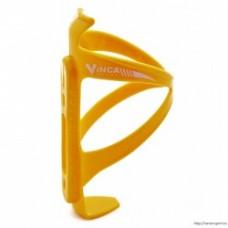 Флягодержатель пластиковый Vinca Sport HC желтый