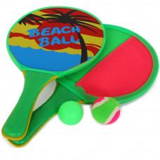 Набор игра 2вкэтчбол/пляж.бадминтон Start Up S733 (33х19х0,5)