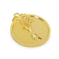 Медаль универсальная (40) золото 50мм (2054)