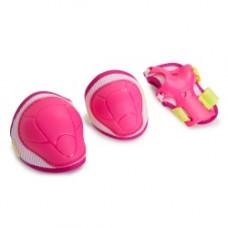 Защита роликовая Start Up Kiddy розовый