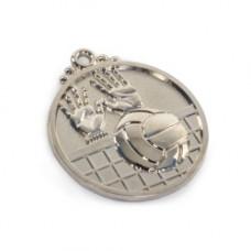 Медаль волейбол (28) серебро 50мм (1972)