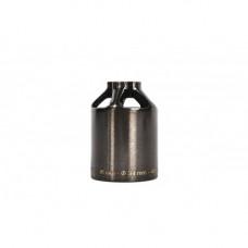 Пега ETHIC steel pegs 48 mm - transparent black