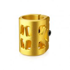 Хомут-B Fox HIC d 34.9, 3 bolt  oversized, золотой