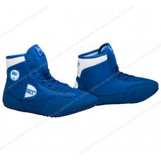 Обувь для борьбы Green Hill GWB-3052/GWB-3055 Blue/White