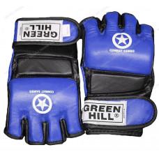 Перчатки для MMA Green Hill COMBAT SAMBO MMR-0027CS к/з Blue