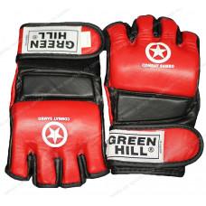 Перчатки для MMA Green Hill COMBAT SAMBO MMR-0027CS к/з Red