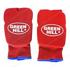 Накладки на кисть Green Hill Эластик HP-6133 х/б Red
