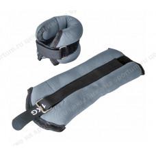 Утяжелители ALT Sport HKAW101-2 (2х0,25кг) в сумке Gray