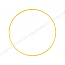Обруч пластиковый 60см d-18 Yellow