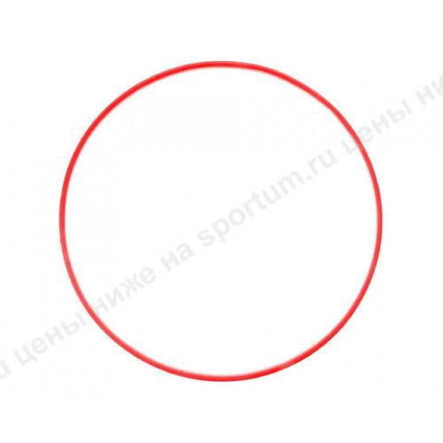 Обруч пластиковый для гимнастики 60см d-18 Red