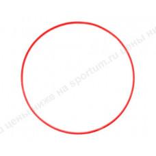 Обруч пластиковый для гимнастики 70см d-18 Red