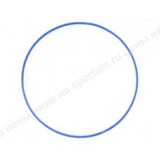 Обруч пластиковый для гимнастики 80см d-18 Blue