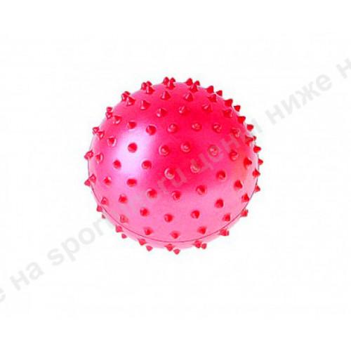 Мяч массажный мягкий d-10 см. Red
