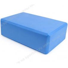 Йога блок B26351-4 полумягкий Blue