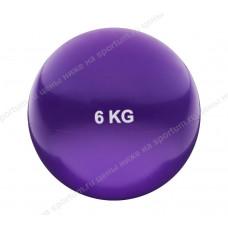 Медбол HKTB9011-6 6кг., d-21см. Violet