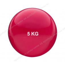 Медбол HKTB9011-5 5кг., d-20см. Red