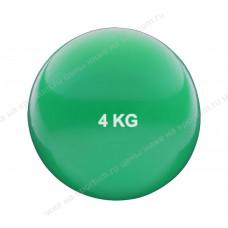 Медбол HKTB9011-4 4кг., d-17см. Green