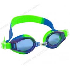 Очки для плавания 2439-2  JR Blue/Green