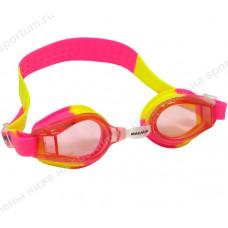 Очки для плавания 2439-7 JR Yellow/Pink
