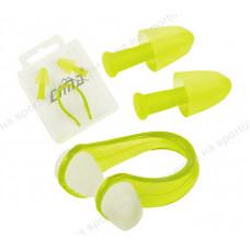 Комплект для плавания беруши и зажим для носа C33422-3
