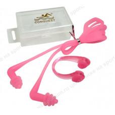 Комплект для плавания зажим для носа и беруши C33555-2