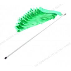 Лента гимнастическая 6м. с палочкой 48см. F11753-6M Light Green
