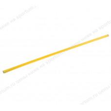 Палка гимнастическая 120 см (d-20) Yellow