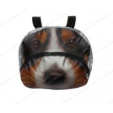 Мешок-рюкзак складной RT, на самокат и велосипед Собака