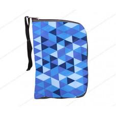 Чехол-портмоне складной для самоката Y-SCOO 125 РОМБЫ голубые